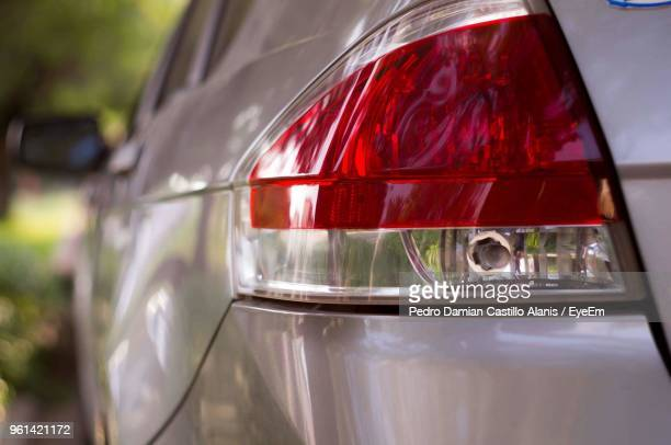 close-up of car - tail light stock pictures, royalty-free photos & images