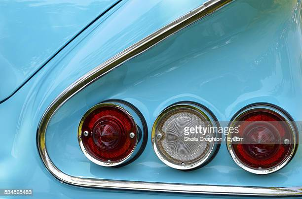 close-up of car tail light - tail light stock pictures, royalty-free photos & images