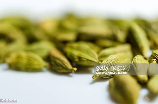 Close-Up Of Cardamoms On Table