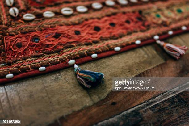 close-up of carpet on wood - tassel stock pictures, royalty-free photos & images