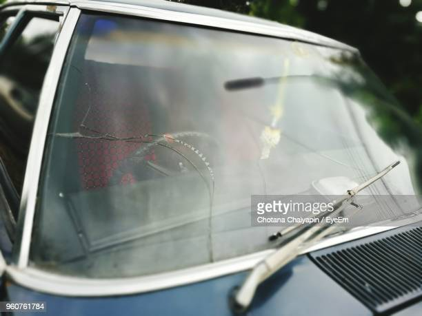 close-up of cars windshield - windshield wiper stock photos and pictures