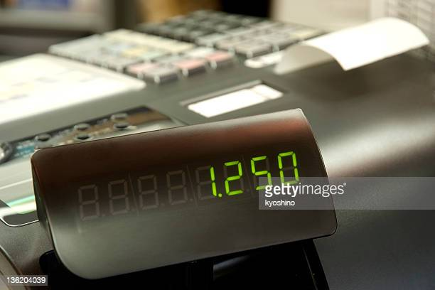 close-up of cash register - cash register stock pictures, royalty-free photos & images