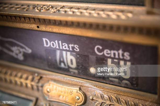 Close-Up Of Cash Register