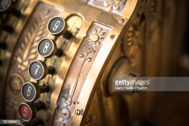 close-up of cash register - marty hardin stock pictures, royalty-free photos & images