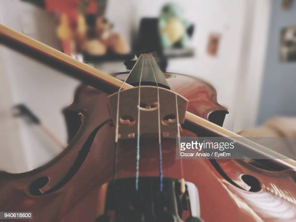 close-up of cello - string instrument stock photos and pictures