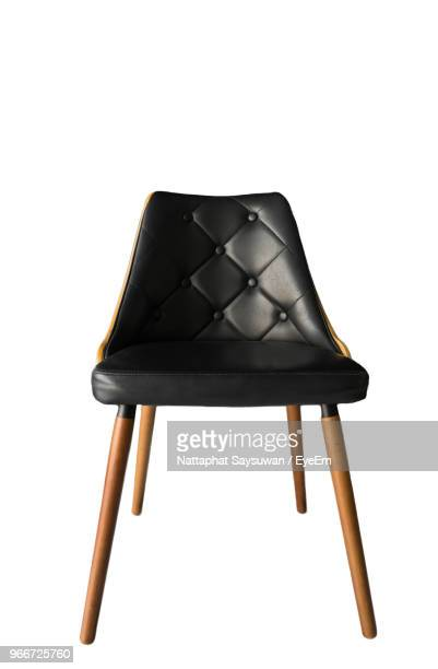close-up of chair against white background - 椅子 ストックフォトと画像