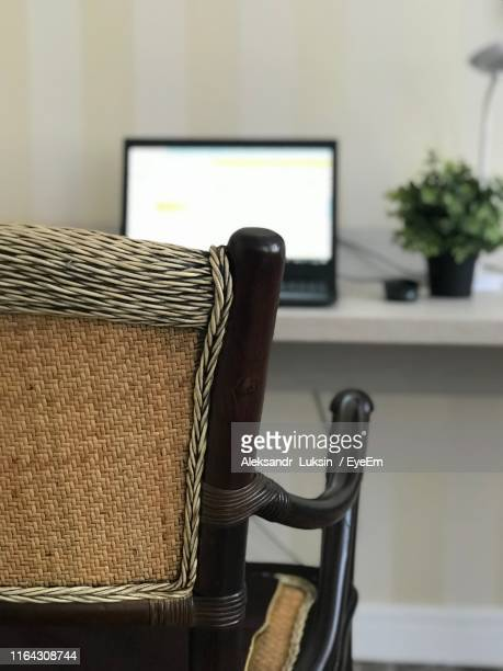 close-up of chair at home - オレンブルク州 ストックフォトと画像