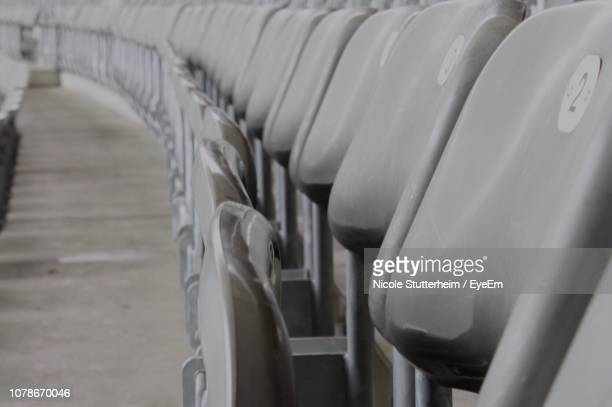 close-up of chairs - stutterheim stock pictures, royalty-free photos & images