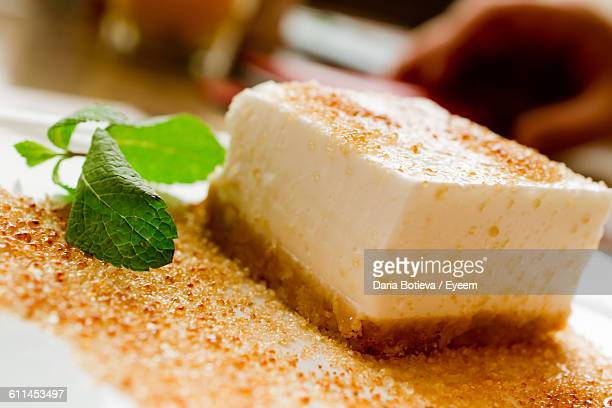 Close-Up Of Cheesecake