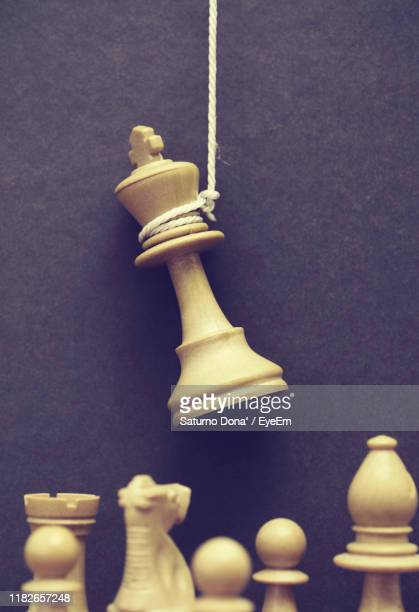 close-up of chess board - execution stock pictures, royalty-free photos & images