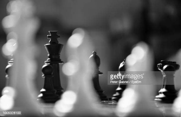 close-up of chess pieces - still life stock pictures, royalty-free photos & images