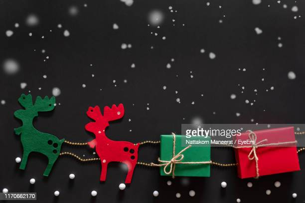 close-up of christmas - fake snow stock pictures, royalty-free photos & images