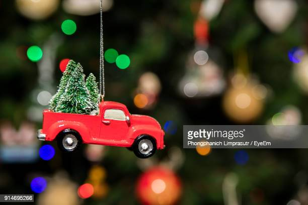 close-up of christmas tree - car decoration stock pictures, royalty-free photos & images