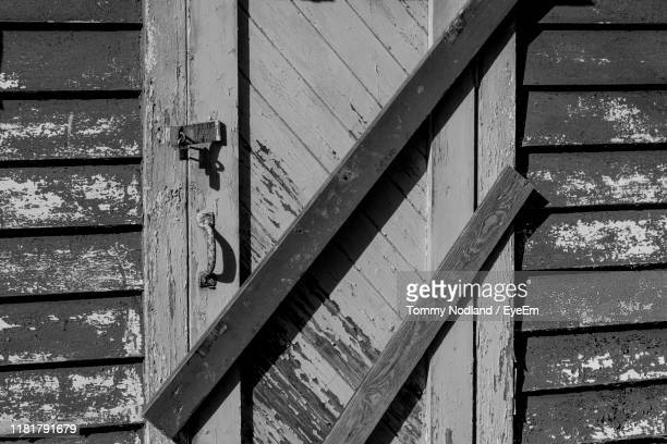 close-up of closed door - egersund stock photos and pictures