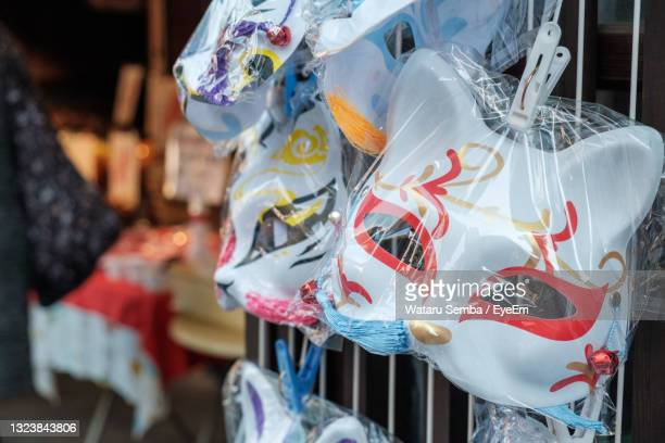 close-up of clothes hanging at store - kawagoe stock pictures, royalty-free photos & images