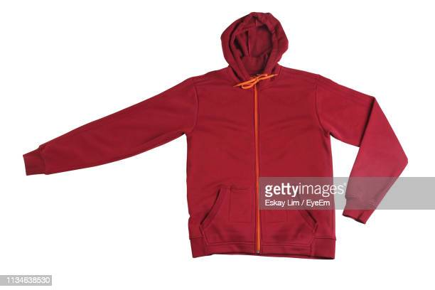 close-up of clothing against white background - coat garment stock pictures, royalty-free photos & images