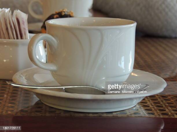 close-up of coffee on table - treviso italy stock pictures, royalty-free photos & images