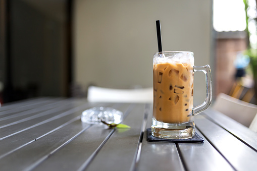 Close-Up Of Coffee On Table - gettyimageskorea