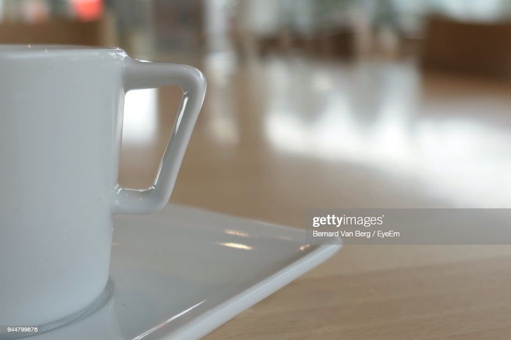 Close-Up Of Coffee On Table : Stock Photo