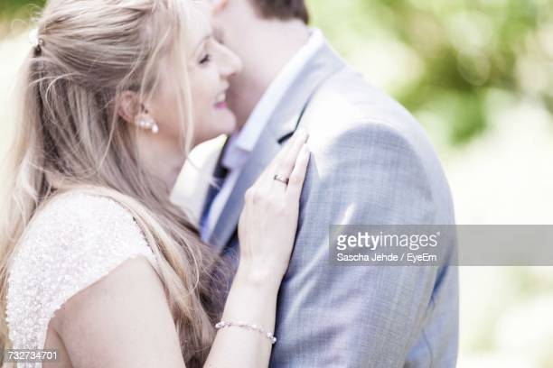 Close-Up Of Couple Hugging