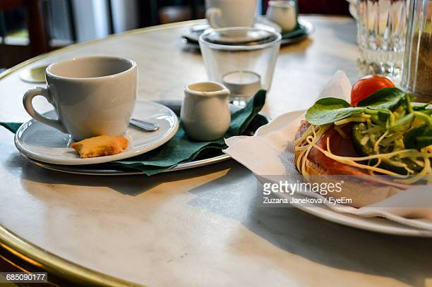 close-up of cropped food on table - zuzana janekova stock pictures, royalty-free photos & images