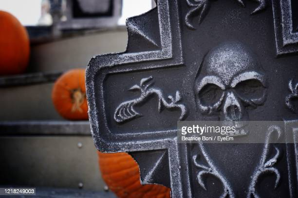 close-up of cross sculpture - beatrice stock pictures, royalty-free photos & images