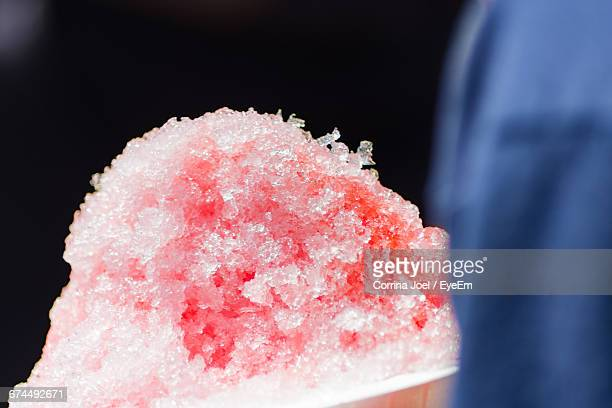 Close-Up Of Crushed Ice
