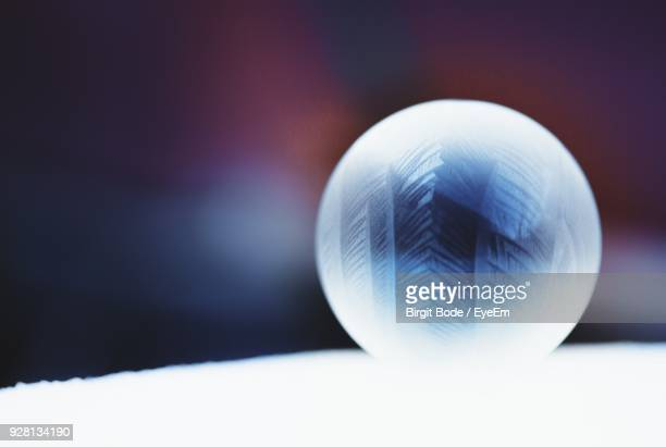 Close-Up Of Crystal Ball