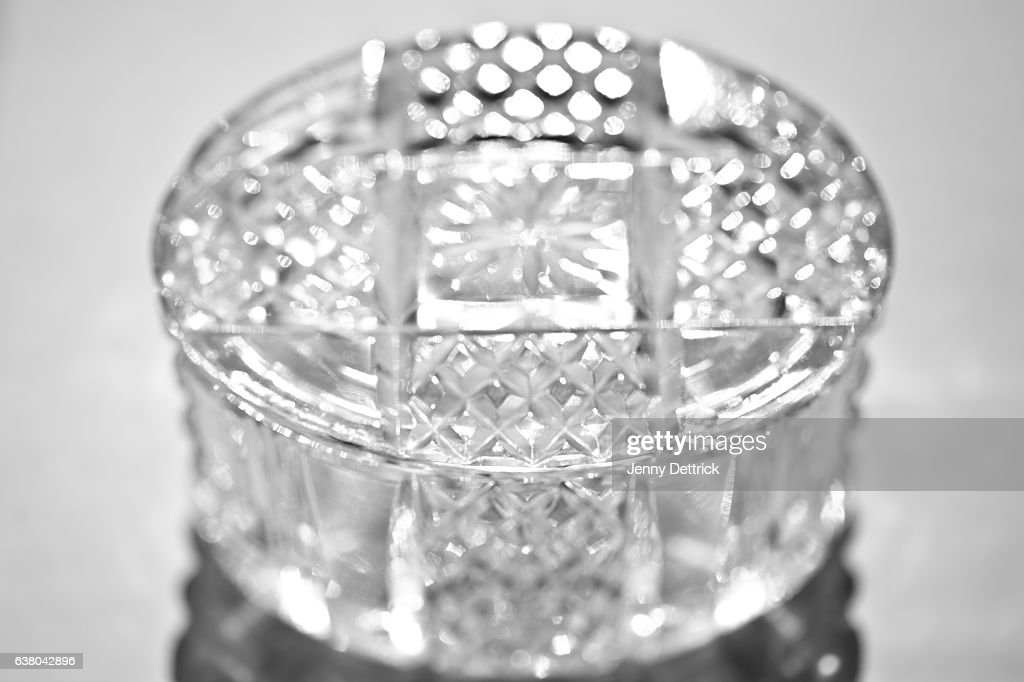 Closeup Of Crystal Jewellery Box Stock Photo | Getty Images