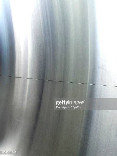 Close-Up Of Curved Sheet Metal