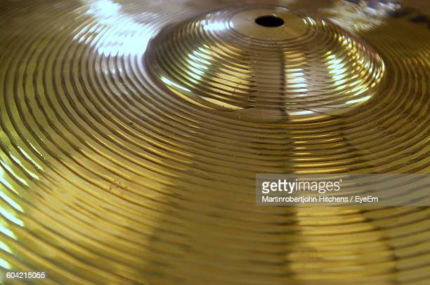 Close-Up Of Cymbal