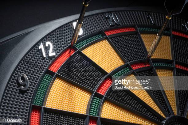 close-up of dartboard - dart stock pictures, royalty-free photos & images