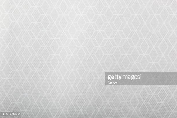 close-up of decorative white paper - papel de parede imagens e fotografias de stock