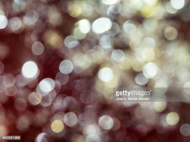 Close-Up Of Defocused Light