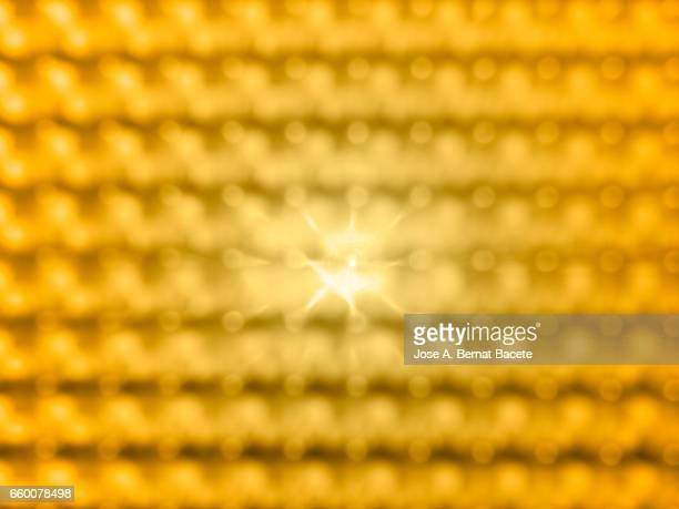 close-up of defocused light - luz eléctrica stock pictures, royalty-free photos & images