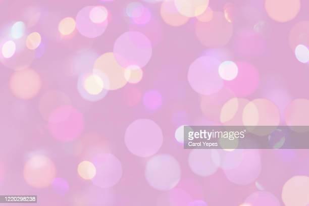 close-up of defocused lights background.pink - pastellfarbig stock-fotos und bilder