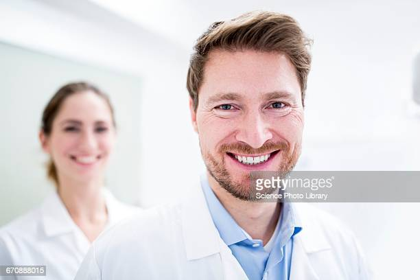 Close-up of dentist