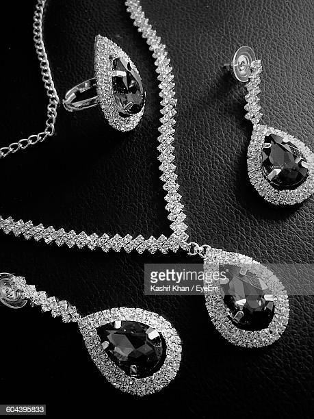 Close-Up Of Diamond Jewelry