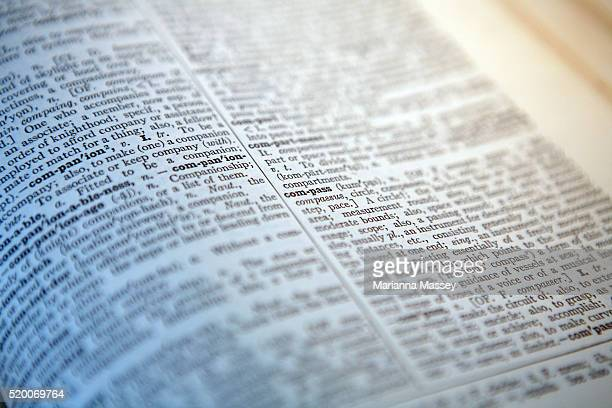 closeup of dictionary - dictionary stock pictures, royalty-free photos & images