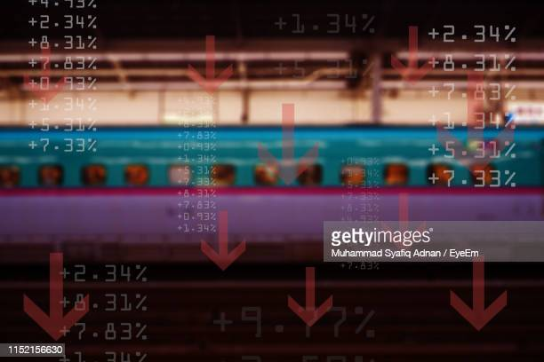 close-up of digital screen - percentage sign stock pictures, royalty-free photos & images