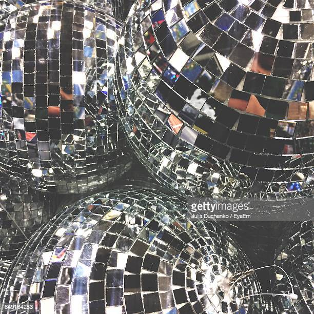 Close-Up Of Disco Balls