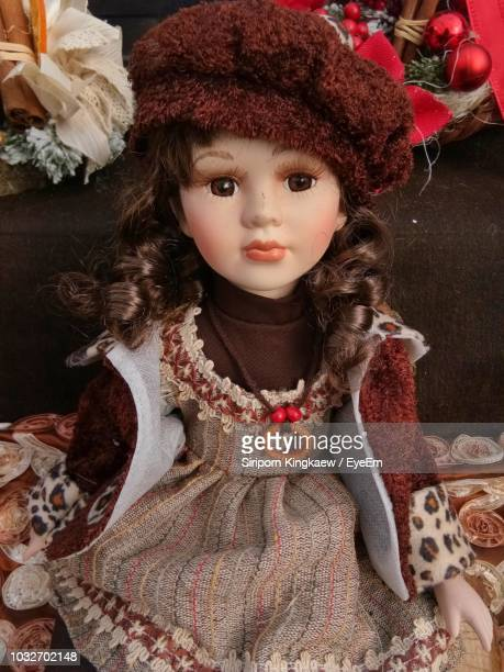 Close-Up Of Doll On Table