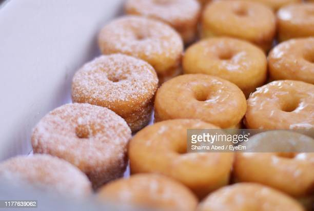close-up of donuts - glazed food stock pictures, royalty-free photos & images