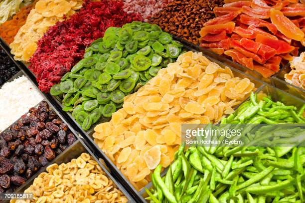 Close-Up Of Dried Fruits For Sale