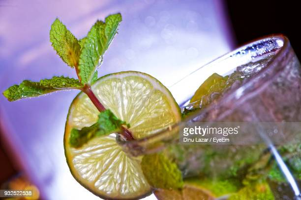 Close-Up Of Drink In Glass