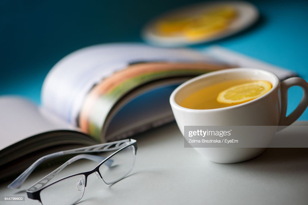 Close-Up Of Drink On Table : Stock Photo