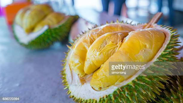 close-up of durian - durian stock pictures, royalty-free photos & images