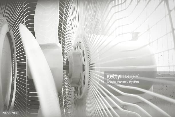 Close-Up Of Electric Fan