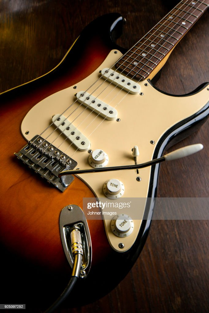 Closeup Of Electric Guitar Stock Photo Getty Images