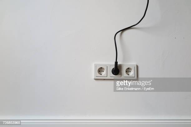 Close-Up Of Electric Plug